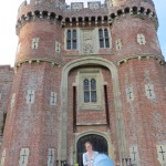 Standing in front of Herstmonceux