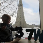 37 weeks old - a great view - life is good